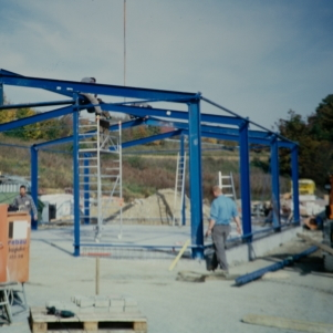 rebau-Historie-2000 - Bau zweite Halle am Standort