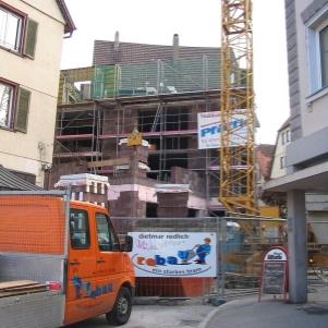 rebau-Historie-2005 - Bau eines Wohn- und Geschäftshauses in der Sigmaringer Innenstadt