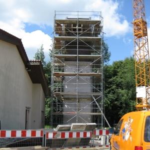rebau-Historie-2009 - Bau des Schlauchtrocknungsturm für die Freiwillige Feuerwehr Sigmaringen