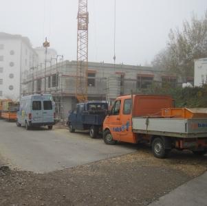 rebau-Historie-2012 - Rohbau Orthopädisches Zentrum beim Krankenhaus Pfullendorf