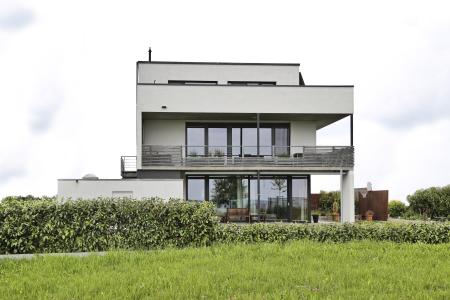 rebau-Referenzprojekte - Wohnungsbau - Einfamilienhaus mit Flachdach