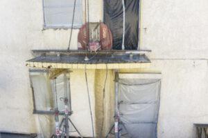 rebau-Referenzprojekte - Bohren und Sägen - Betonsägearbeiten, Balkon absägen