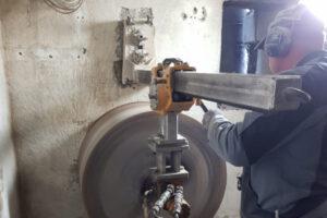 rebau-Referenzprojekte - Bohren und Sägen - Kernbohrung Versorgungskeller