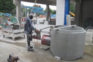 rebau-Referenzprojekte - Bohren und Sägen - Schacht anbohren