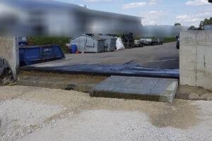rebau-Referenzprojekte - Bohren und Sägen - Wandsägearbeiten in Betonwand