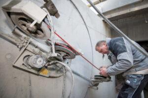 rebau-Referenzprojekte - Bohren und Sägen - Zirkelsägearbeiten in Betonwand