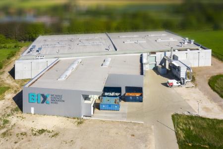 rebau-Referenzprojekte - Gewerbe- & Kommunalbau - Bix Beschichtungen GmbH, Menningen