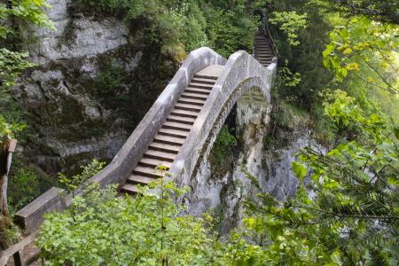 rebau-Referenzprojekte - Sanieren - Geländer Teufelsbrücke Inzigkofen