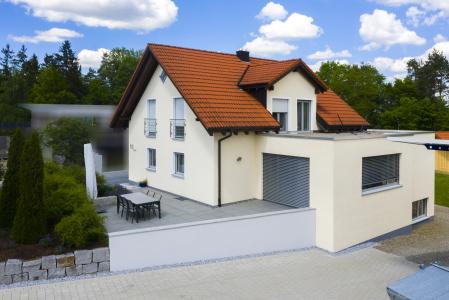 rebau-Referenzprojekte - Umbau und Modernisieren - Anbau eines Wohnzimmers